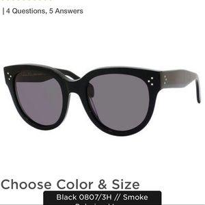 aff6558cbd27 Celine Accessories - Céline Women s Black Polarized Sunglasses